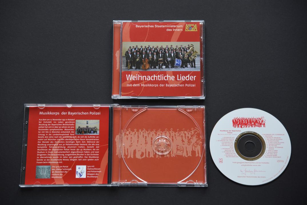 print   BAYERISCHES STAATSMINISTERIUM DES INNERN   CD Weihnachtliche Lieder
