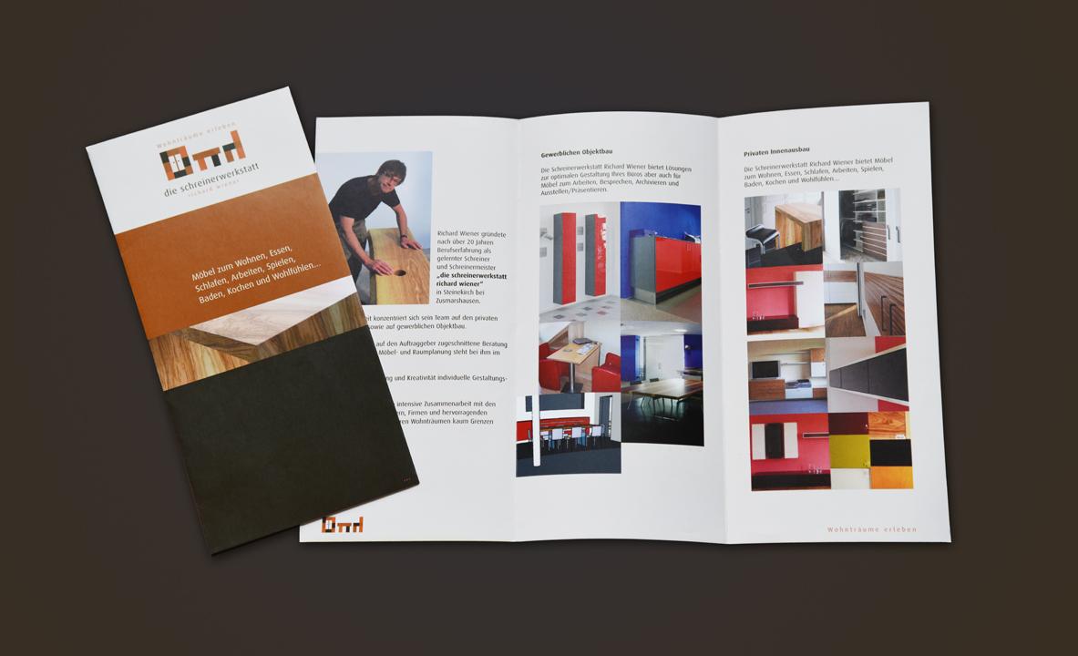 print   DIE SCHREINERWERKSTATT   Brochure