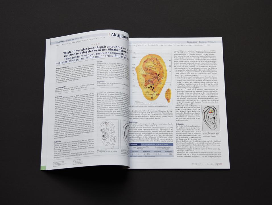 print   ELSEVIER (Publishing house)   Medical magazine Deutsche Zeitschrift für Akupunktur (Content)