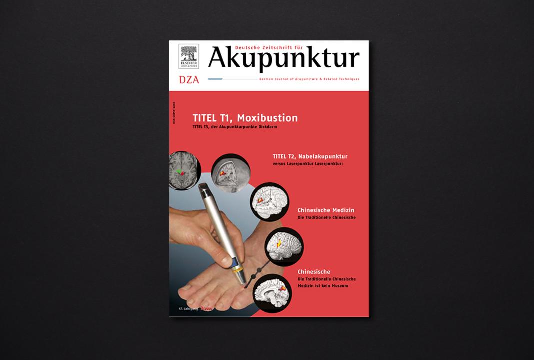 print   ELSEVIER (Publishing house)   Medical magazine Deutsche Zeitschrift für Akupunktur