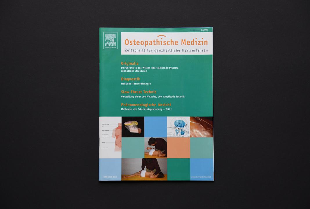 print   ELSEVIER (Publishing house)   Medical magazine Osteopathische Medizin