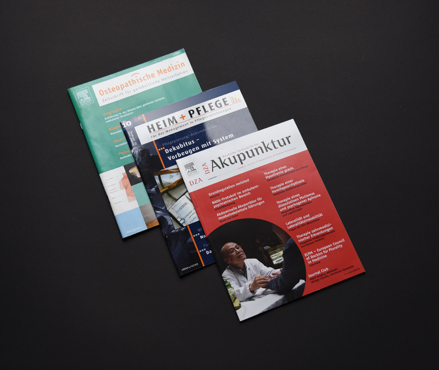 print   ELSEVIER (Publishing house)   Relaunch of specialist medical magazines (title and content)