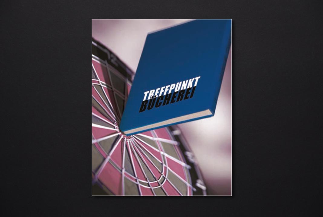 print   SANKT MICHAELSBUND   Poster campaign Treffpunkt Bücherei