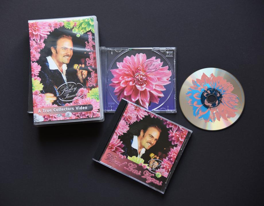 print   THE PRESLEY FAMILY   CD Viva! Las Vegas